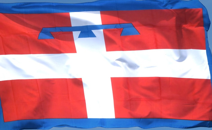 Piemont-Fahne-groß