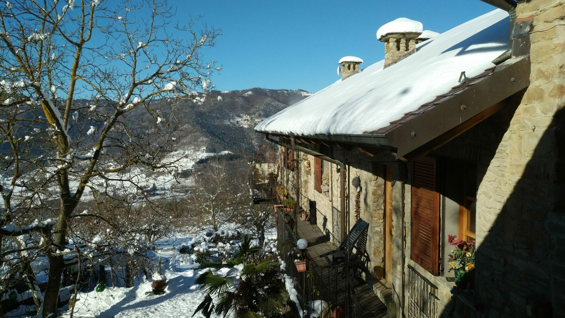 Winter In Cascina Madia
